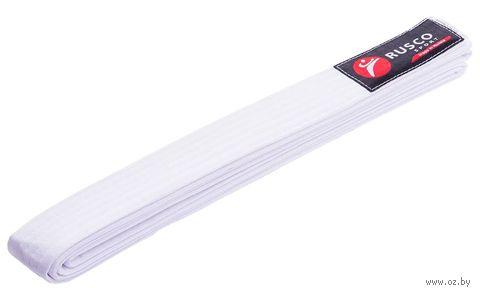 Пояс для единоборств (280 см; белый) — фото, картинка
