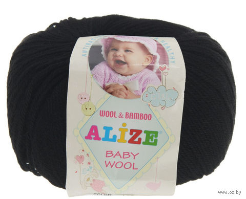 ALIZE. Baby Wool №60 (50 г; 165 м) — фото, картинка