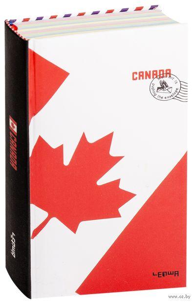 "Блокнот ""Флаг Канады"" (110х185 мм) — фото, картинка"