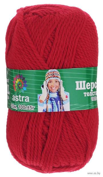 "Пряжа ""Астра. Wool XL"" (красная; 100 г; 110 м) — фото, картинка"