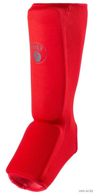 Защита голень-стопа (M; красная) — фото, картинка