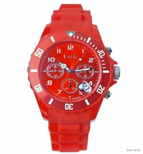 Часы наручные (красные; арт. 728885020) — фото, картинка