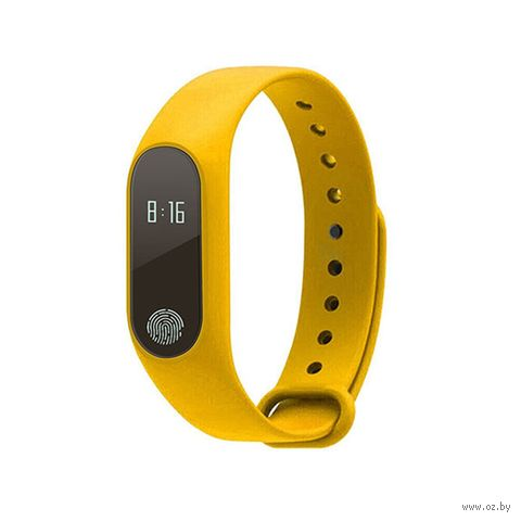 Фитнес-браслет D&A M2 (желтый) — фото, картинка