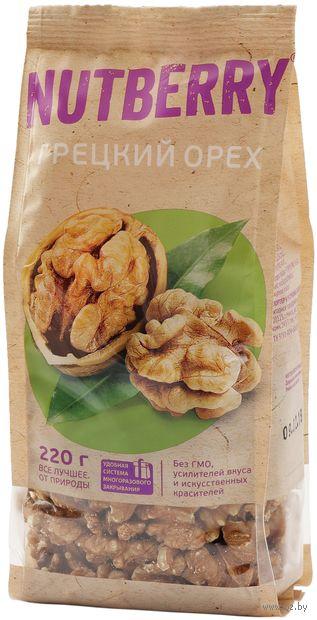 "Грецкий орех ""Nutberry"" (220 г) — фото, картинка"