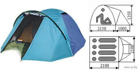 "Палатка ""Юрта-4-1"" (бирюзовая) — фото, картинка"