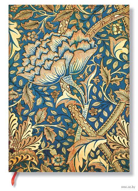 "Записная книжка Paperblanks ""Роза Морриса"" нелинованная (формат: 70*90 мм, микро)"