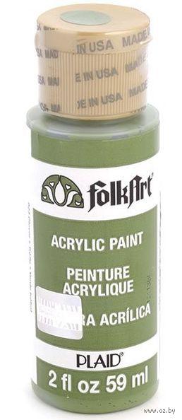 "Краска акриловая ""FolkArt. Acrylic Paint"" (зеленый клевер, 59 мл; арт. PLD-00923)"