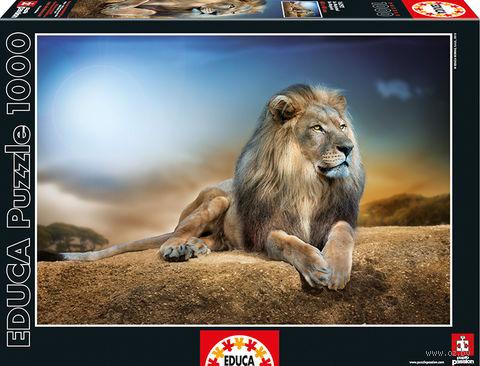 "Пазл ""Его Величество"" (1000 элементов) — фото, картинка"