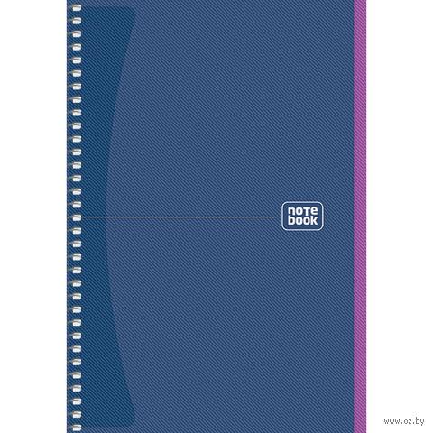 Блокнот на спирали А5 (80 листов; арт. A5-SC-080-948K)