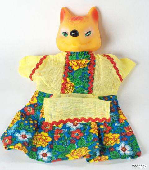"Мягкая игрушка на руку ""Лиса"" (25 см) — фото, картинка"