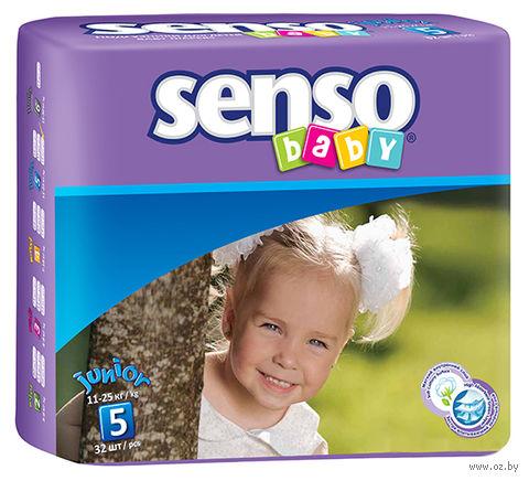 """Подгузники """"Senso baby. Junior"""" (11-25 кг; 32 шт.) — фото, картинка"""