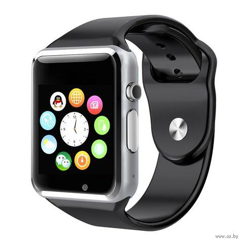 Умные часы Miru A1 (серебристо-черные) — фото, картинка