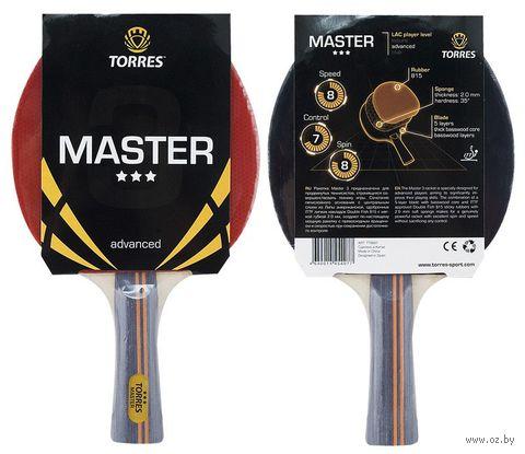"""Ракетка для настольного тенниса """"Master"""" (3 звезды) — фото, картинка"""