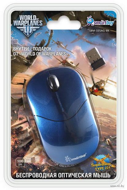 Беспроводная оптическая мышь SmartBuy 335AG (Blue/Black)