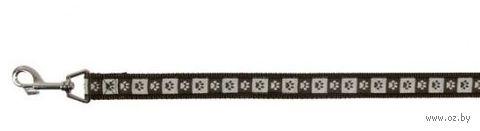 "Поводок для собак ""Modern Art Coffee"" (коричневый, размер M-L, 100 см, арт. 15896)"