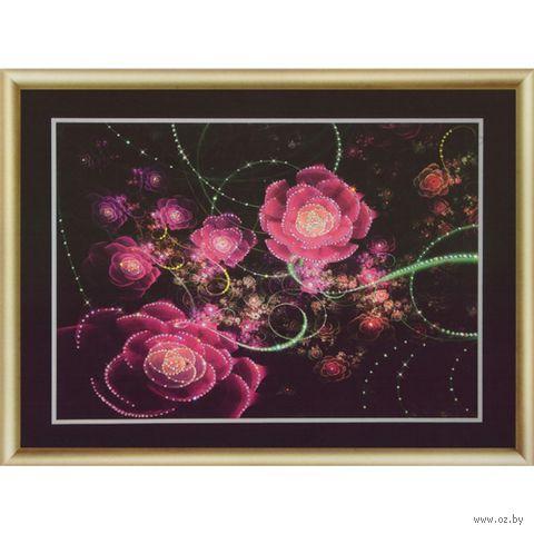 """Алмазная вышивка-мозаика """"Розовое сияние"""""""