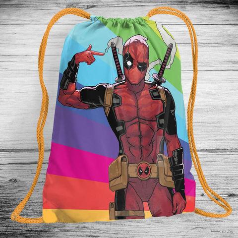 """Рюкзак-мешок """"Дэдпул"""" (арт. 2) — фото, картинка"""