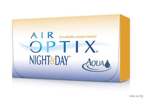 """Контактные линзы """"Air Optix Night and Day Aqua"""" (1 линза; -6,0 дптр) — фото, картинка"""