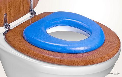 Накладка для унитаза детская (голубая) — фото, картинка
