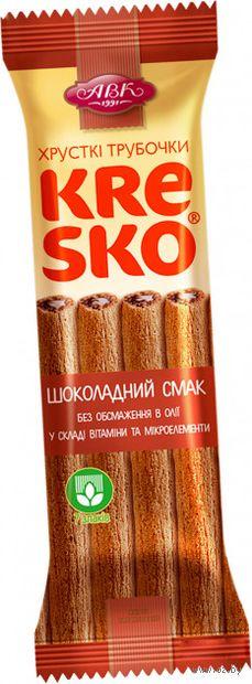 """Трубочки хрустящие """"Kresko. Шоколадный вкус"""" (40 г) — фото, картинка"""
