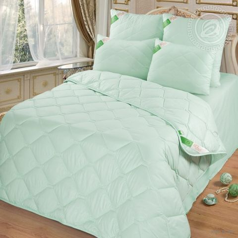 Одеяло стеганое (200х215 см; евро; арт. 2396) — фото, картинка