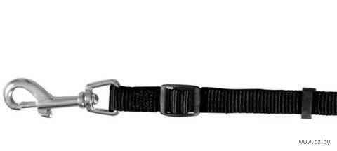 """Поводок регулируемый для собак """"Classic"""" (размер M-L, 120-180 см, черный, арт. 14121)"""