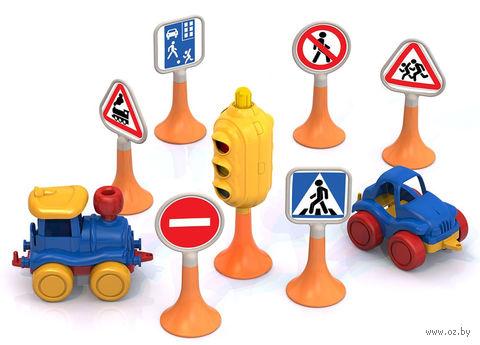 """Игровой набор """"Дорожные знаки №3"""" — фото, картинка"""