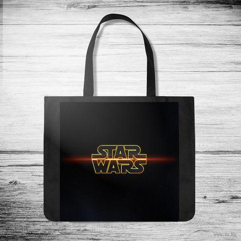 """Сумка-шоппер """"Звездные Войны"""" (арт. 3) — фото, картинка"""