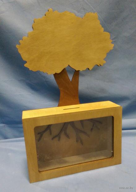 "Копилка ""Дерево"" (арт. S00014) — фото, картинка"