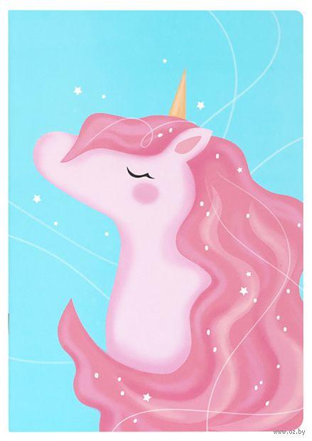 """Блокнот """"Волшебный единорог"""" (А5; розовый) — фото, картинка"""