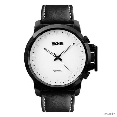 Часы наручные (чёрно-белые; арт. 1208) — фото, картинка