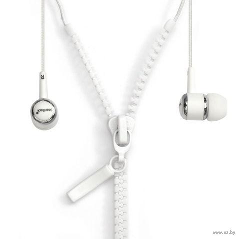Внутриканальные стерео наушники SmartBuy ZZIP, SBE-4500 (белые)