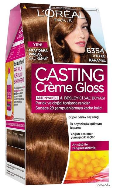 """Краска-уход для волос """"Casting Creme Gloss"""" (тон: 6354, карамельный маккиато)"""