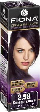 """Крем-краска для волос """"Fiona"""" (тон: 2.98, спелая слива)"""