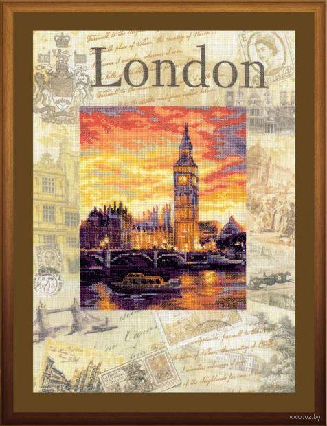 """Вышивка крестом """"Города мира. Лондон"""" (300х400 мм) — фото, картинка"""