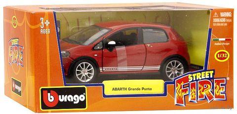 "Модель машины ""Bburago. Grande Punto Abarth"" (масштаб: 1/32) — фото, картинка"