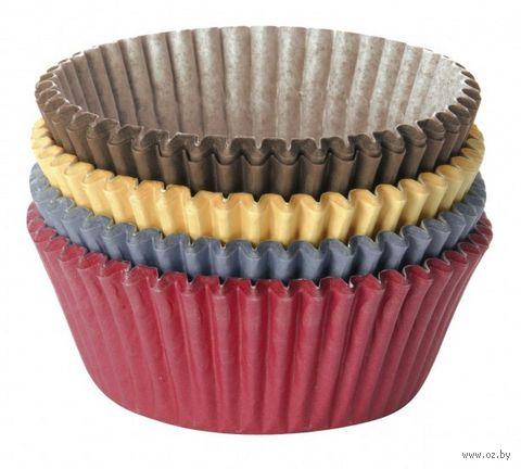 """Форма бумажная для выпекания кексов """"Delicia"""" (100 шт.; цветной) — фото, картинка"""