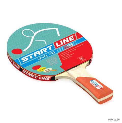 """Ракетка для настольного тенниса """"Level 100"""" (коническая) — фото, картинка"""