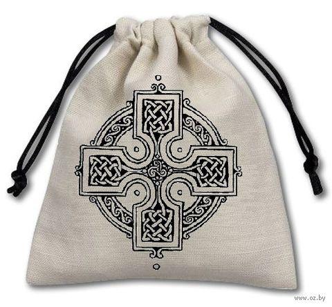 """Мешочек для хранения кубиков и карт """"Кельтский Крест"""" — фото, картинка"""