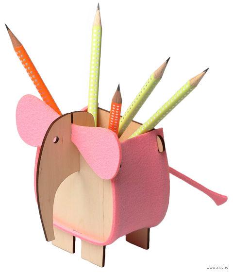 """Сборная деревянная игрушка """"Слон"""" — фото, картинка"""