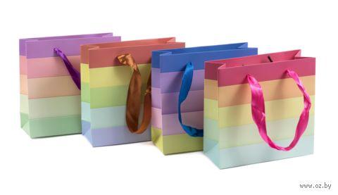 Пакет бумажный подарочный (15х14,5х6 см; продается только в розничных магазинах OZ) — фото, картинка