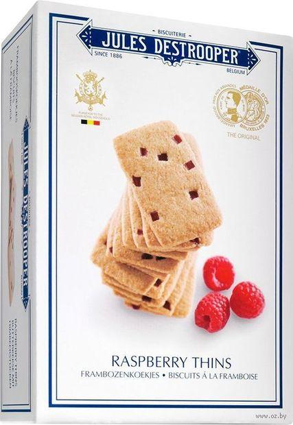 """Печенье """"Jules Destrooper. С кусочками малины"""" (67 г) — фото, картинка"""