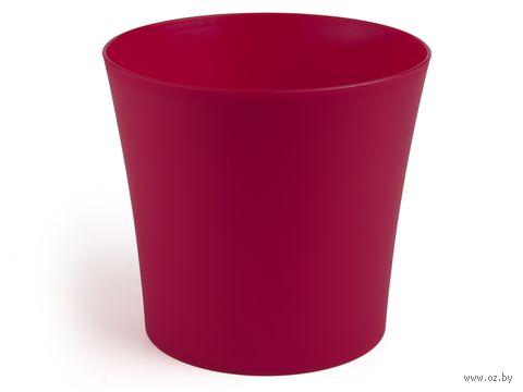 """Кашпо """"Фиалка"""" (14,5 см; красное) — фото, картинка"""