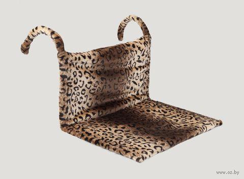 Гамак для кошек (43х32х20 см; леопард) — фото, картинка