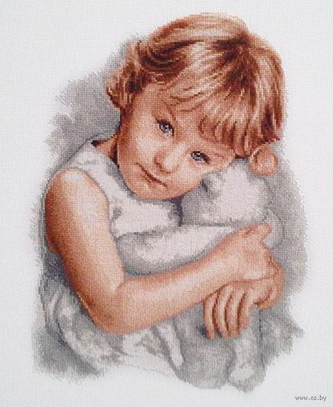 """Вышивка крестом """"Любимый мишка"""" (230х310 мм) — фото, картинка"""