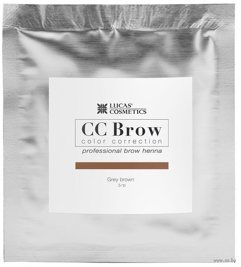 "Хна для бровей ""CC Brow. Саше"" тон: grey brown — фото, картинка"