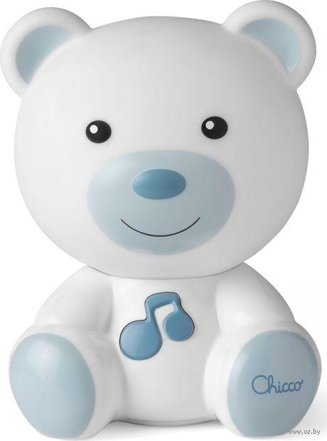 """Ночник детский """"Медвежонок Dreamlight"""" (голубой; со звуковыми эффектами) — фото, картинка"""