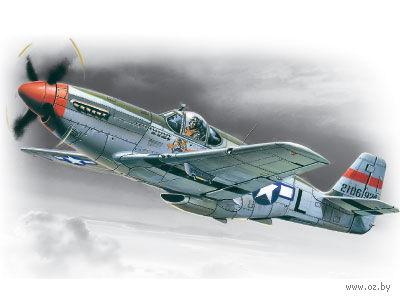 Американский истребитель Мустанг P-51 C (масштаб: 1/48) — фото, картинка
