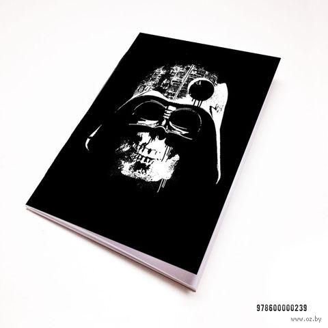 "Блокнот белый ""Дарт Вейдер"" А7 (арт. 239)"