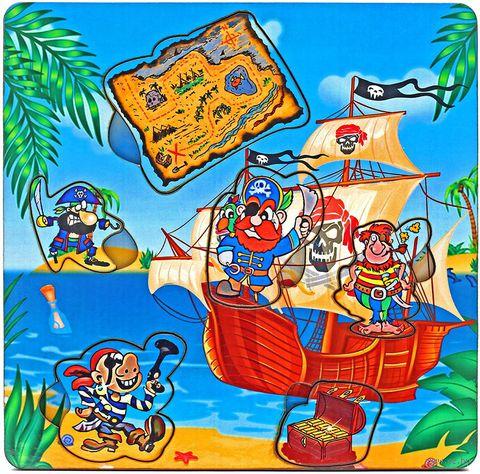 "Рамка-вкладыш ""Пираты с картой"" — фото, картинка"